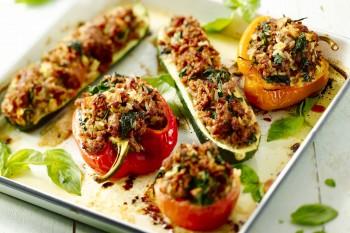 gevulde groente